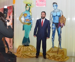 Body paint y Photocall El Batel Cartagena