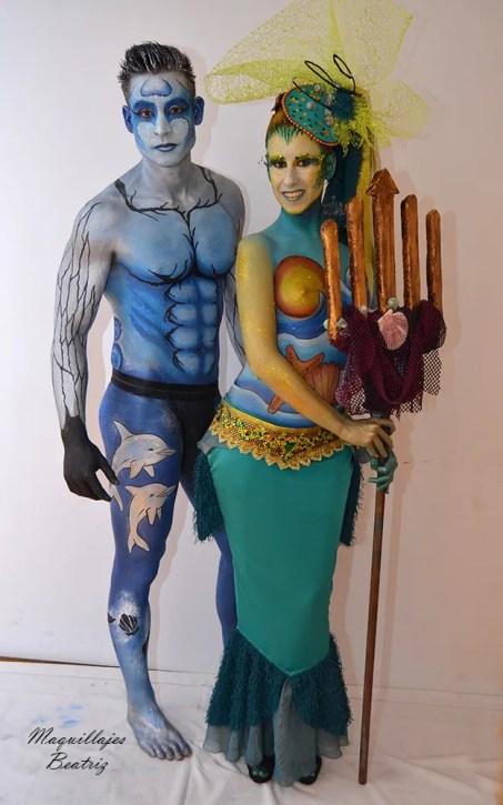 Sirena y tritón Beatriz Martínez El Batel, Cartagena