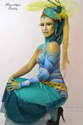 Body paint de sirena