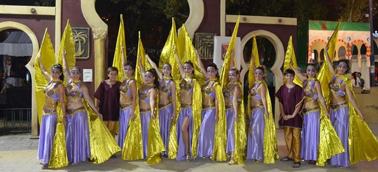 Desfile de moros y cristianos. Murcia