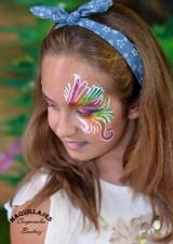 Pintacaras arco iris