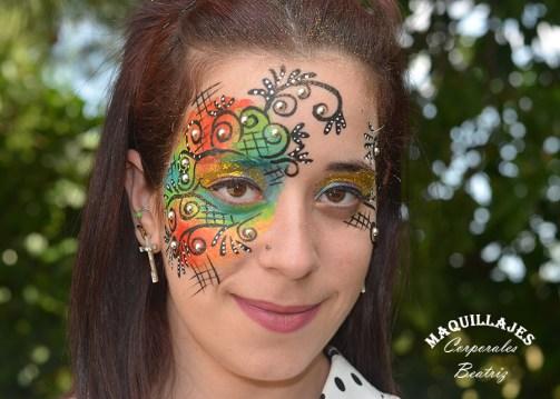 Maquillaje fantasía 2 3