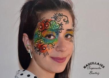Maquillaje fantasía 2 5