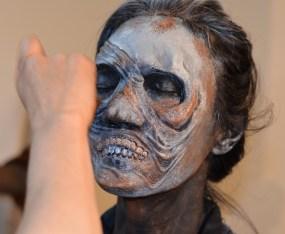 Caracterización en espuma de látex de un zombie