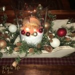 DIY Christmas Arrangement –  How to create your own table decoration