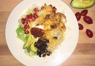 Burrito Bowl-portion fix-21 day fix