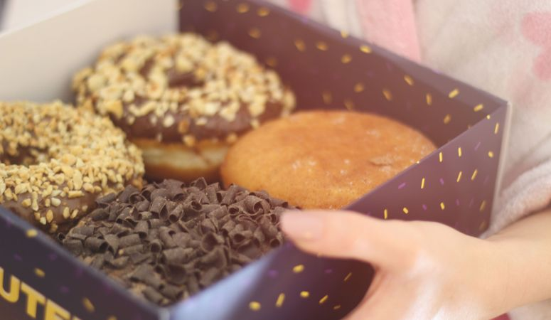 free from worry about eating healthy donuts