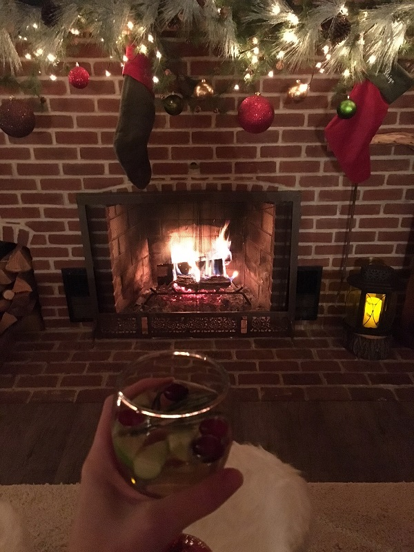 Christmas Sangria - Pinot Grigio- Party Cocktail- Entertaining
