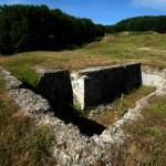 Bazin din cadrul captarii cu apa de la Marasti - ruina
