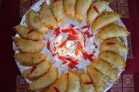Karanjya : Karanji and gujiya are two indian sweets which have a similar look and appearance. Basically both karanji and gujiya are fried pastries with a sweet stuffing. kids love...