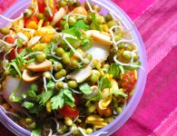 Modaychya Kad Dhanyachi Bhel : It is bhel with lots of vitamins made with mixed sprouts. You can serve it with some farson, sev papdi or Mumbai bhel , and...