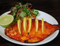 Fish Tandoori- Fish Tandoori is a non-veg dish.To prepare this dish we need some ingredients as listed below. This delicious grilled fish is a great starter for the fish lovers. learn other...