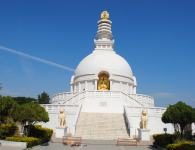 Vishwa Shanti Stup : Vishwa Shanti Stup near, Gitai Mandir is a large stupa of white color. Statues of Buddha are mounted on stupa in four directions. Also it has a small...