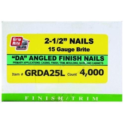 primesource building products GRDA25L finish nail dw51275k dtda25l - primesource building products