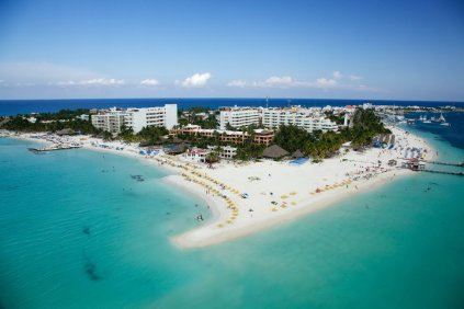 Isla mujeres en Cancún