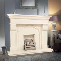 Shelbourne in Ivory Pearl | Marble Fireplaces Ireland