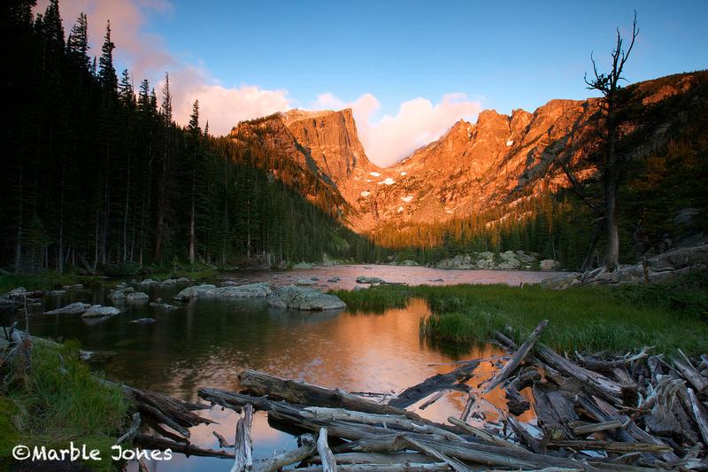 Fall Mountain Scenery Wallpaper Marble Jones Photography Dream Lake Rocky Mountain
