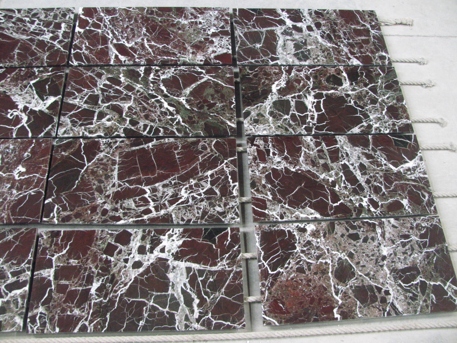 Rosso Levanto Marble Tiles By Marble Tile Direct