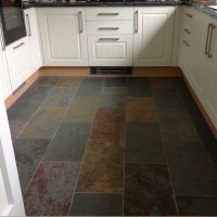 "Brazilian Multicolor Natural Cleft Slate Tile 12""x24"""