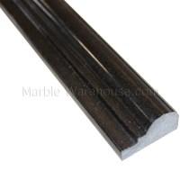 """Black Absolute Granite Chair Rail - 2 1/4""""x12"""""""
