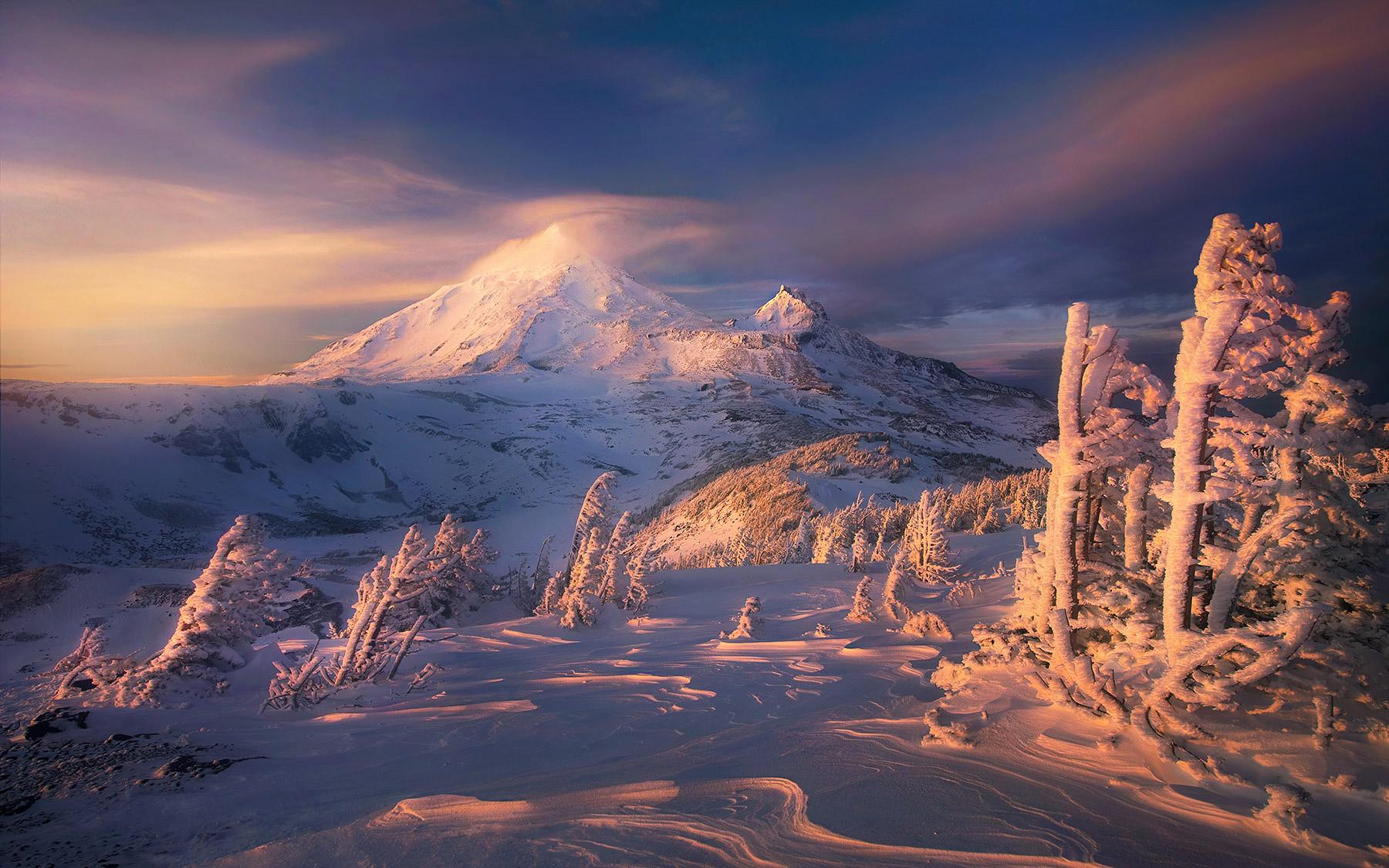 Colorado Fall Desktop Wallpaper Higher Calling Three Sisters Wilderness Oregon Marc