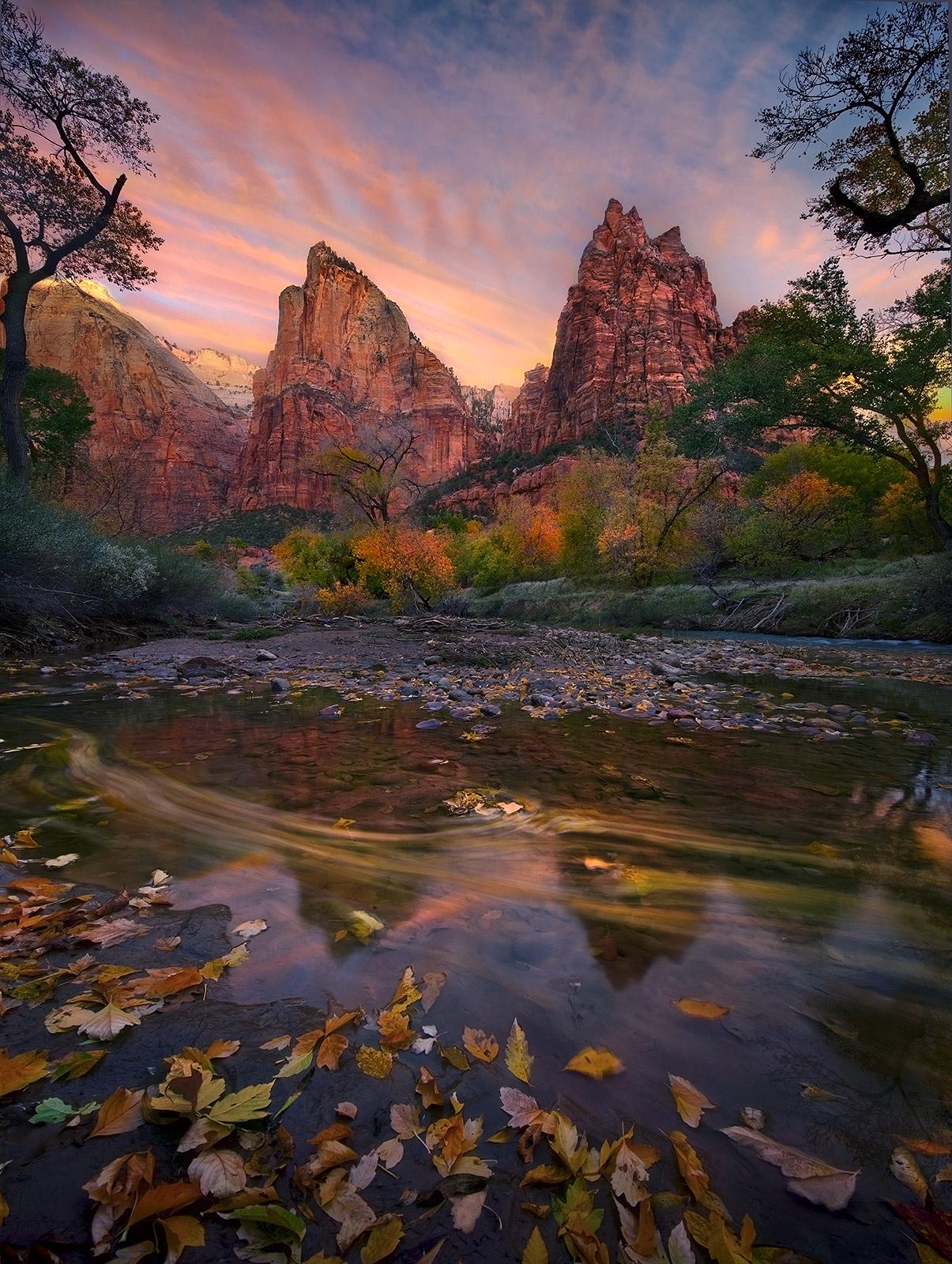 Colorado Fall Wallpaper Mountain Mountain 2010 Court Of The Patriarchs Zion