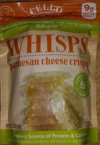 Whisos, Cello Parm Crisps