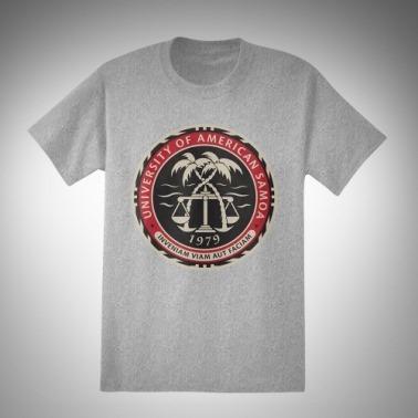 Camiseta da Universidade da Samoa Americana