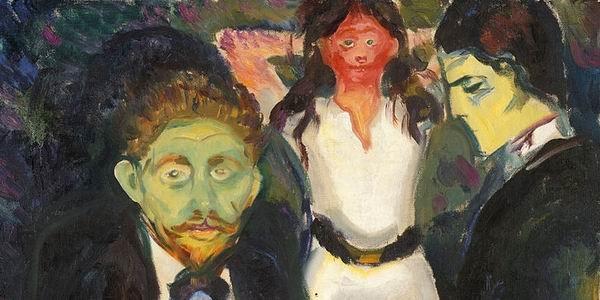 Inveja - Edvard Munch