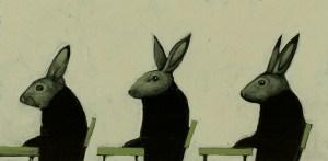 Rabbit Stampa giclée su una William Turner Matt Fine Art da 310 grammi, 100% cotone, bianca. Formato 29,5x42 cm Ogni stampa è tirata in 50 esemplari numerati e firmati e corredata da una cartellina cordonata con etichetta/sigillo. 70 euro più spese di spedizione.