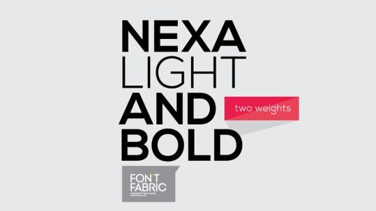 Nexa - Light and Bold font