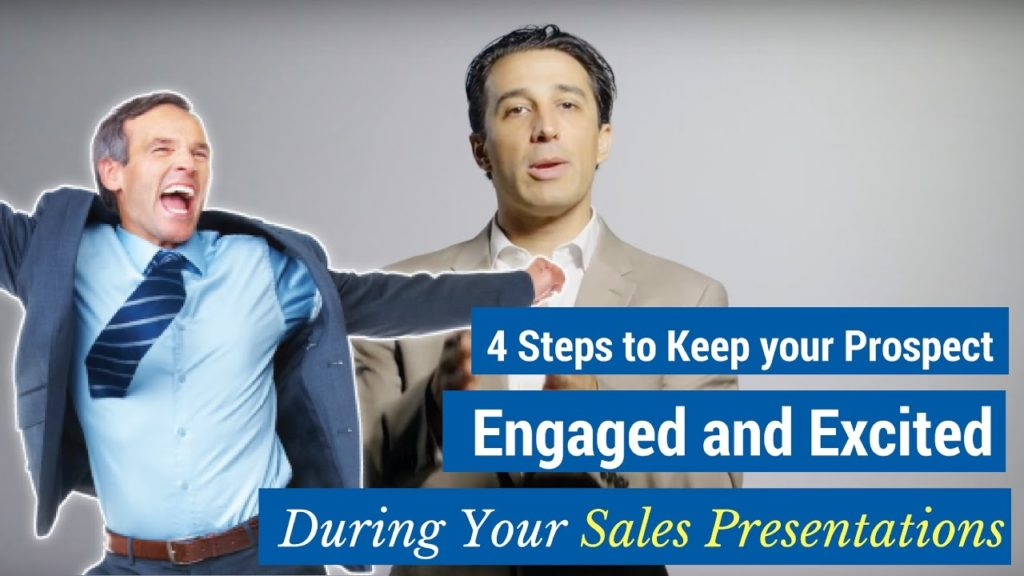 Sales Presentation Steps Video - 4 Steps to Engage Prospects Every Time