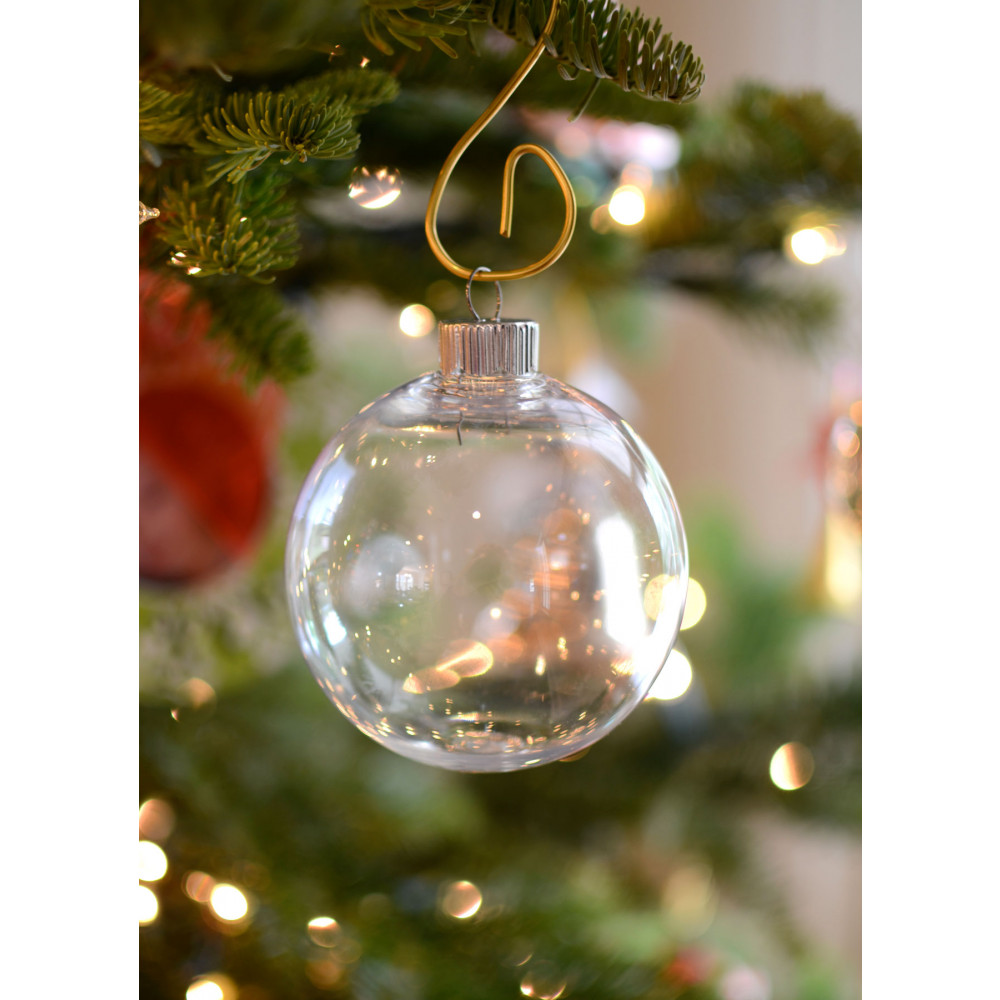 Regaling S Inside Clear Plastic Ball Clear Plastic Ball Clear Ornaments That Open Clear Ornaments decor Clear Christmas Ornaments