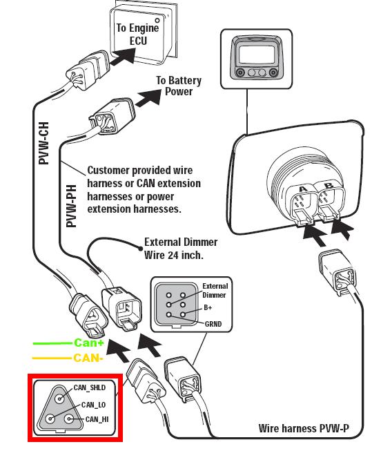 wiring diagram 7 pin female plug