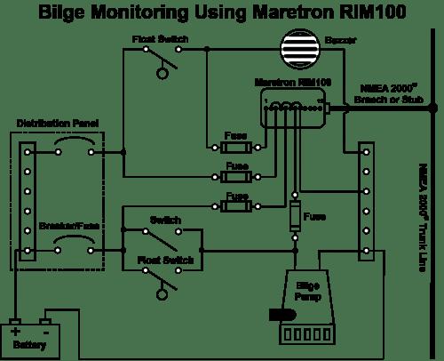 wiring diagram manual bilge pump