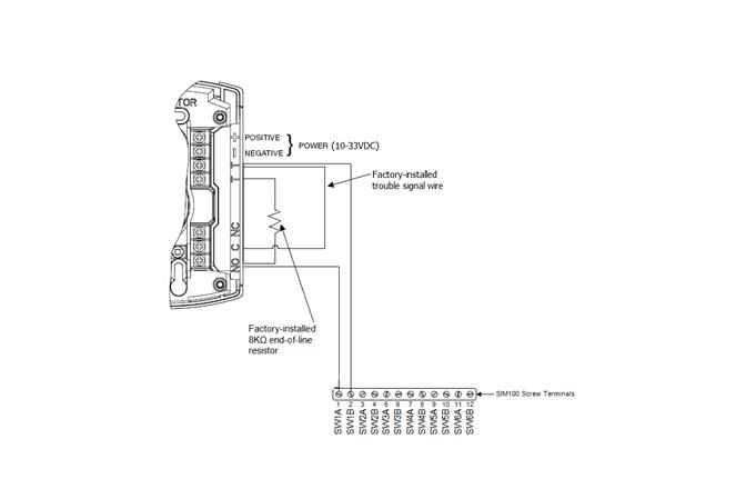 end line resistor wiring diagram