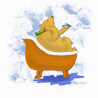bearbathing1