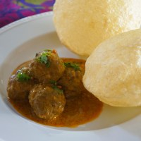 Kofta Curry - Meatballs in a Spicy Coconut Gravy