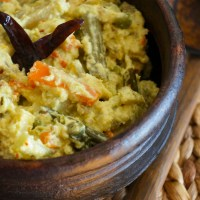 Avial - Mixed Vegetables in a Lightly Spiced Creamy Sauce