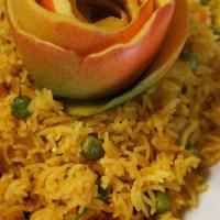 Aloo Mattar Pilaf (Potato and Pea Pilaf)