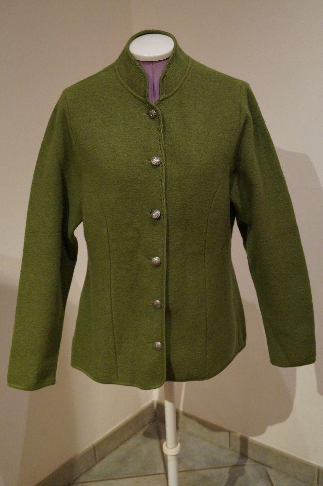 WILD & WALD, Trachtenjacke grün ( reine Schurwolle ), Gr.42, Preis: € 39.-