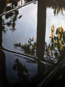 Sin título I. Acrílico sobre lienzo, 130 x 97 cm. 2012