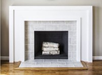 Fireplaces, Subway tiles and Tile on Pinterest