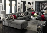 4 Ways to Decorate Around Your Charcoal Sofa - Maria ...