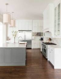 Contrasting Kitchen Island: Get YOUR Colour Right