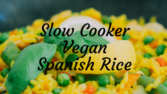 Slow Cooker Vegan Spanish Rice