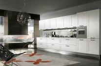 Cucina moderna in Larice