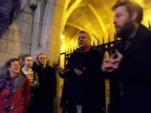 the boys weave their magic in Trinity College