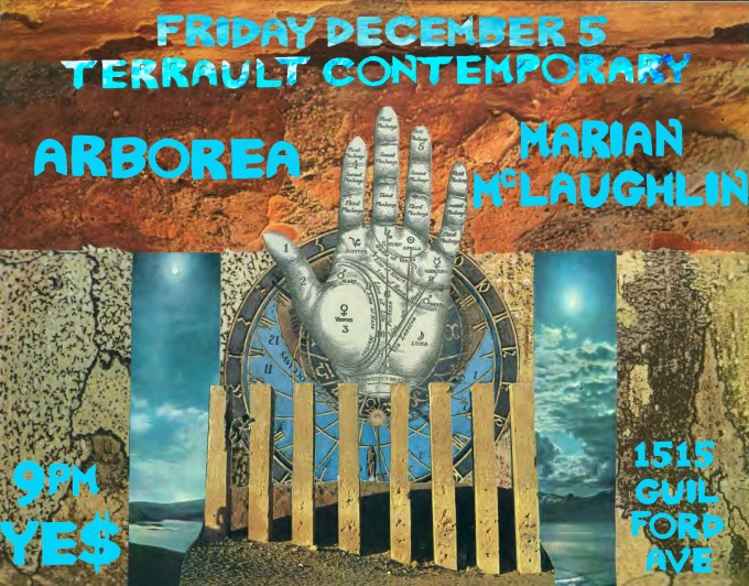 Dec. 5 @Terrault Contemporary