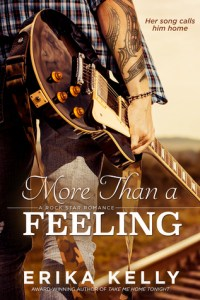 Book review + excerpt: More Than a Feeling ~ Erika Kelly